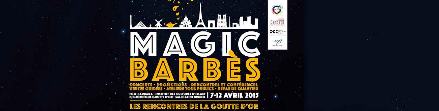 fastival Magic Barbès 2015